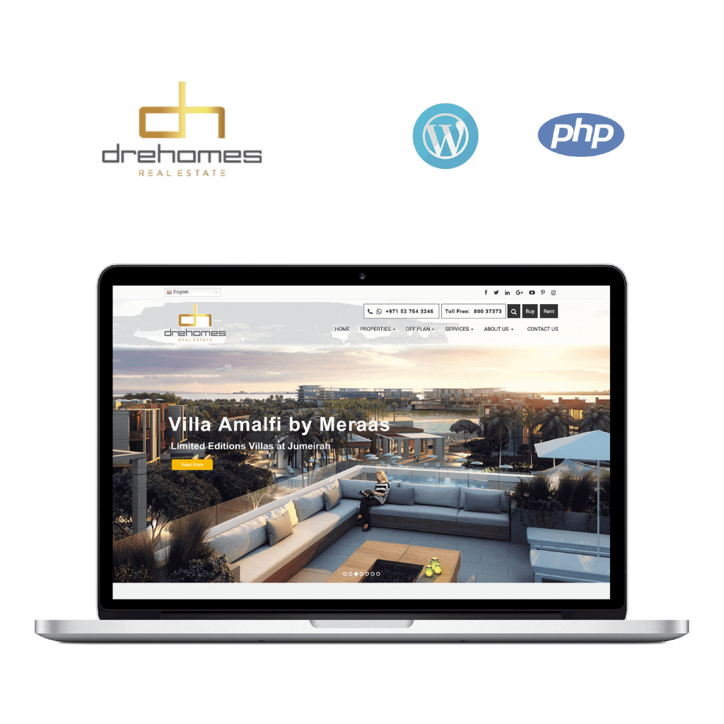 Dre-Homes , web Application, mobile application