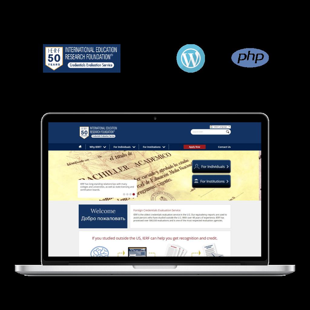 IERF, mobile application, web application