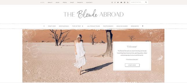Types of websites - Blog